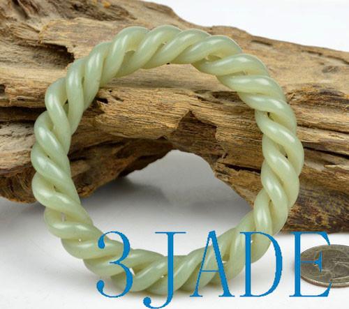 Hetian jade bangle