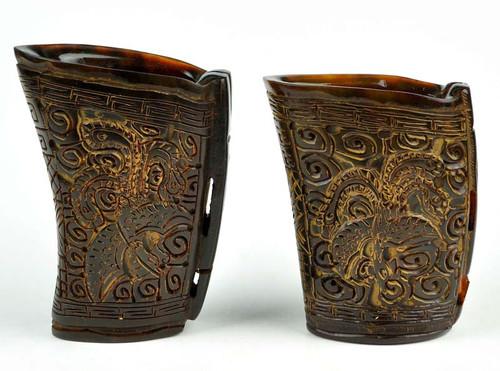 horn vase