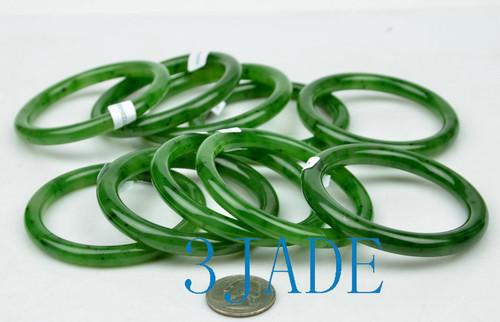 A grade green jade bangle