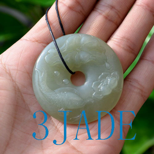 jade lotus fish donut