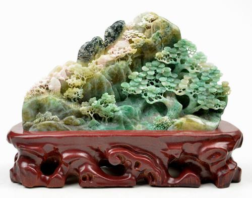 Dushan Jade carving