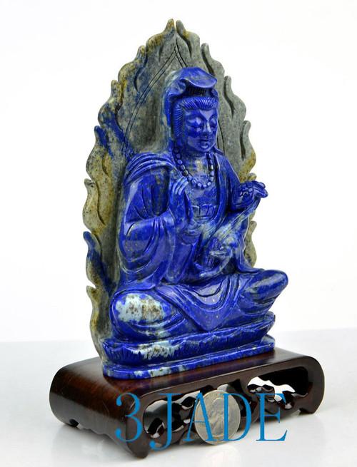 Lapis Lazuli Guanyin