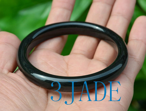 black jade bangle