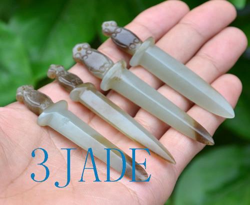 nephrite jade sword