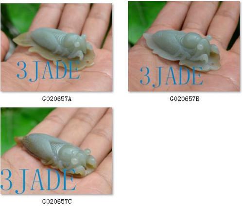 jade cicada pendant