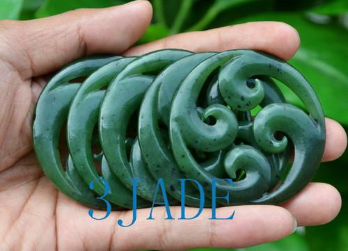 greenstone Koru