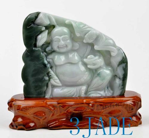 jade Maitreya Buddha statue