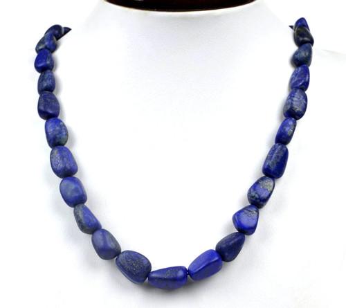 Natural Lapis Lazuli Necklace