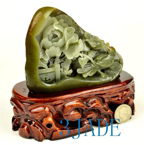 Hetian Seed Jade Carving