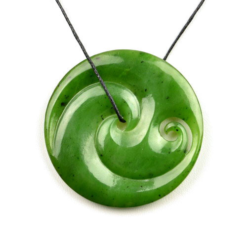 pounamu nephrite image style is jade itm s nz double koru loading maori hei pendant green necklace toki