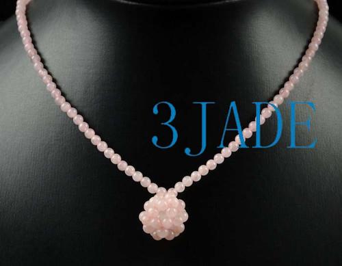 Rose Quartz Beads Necklace