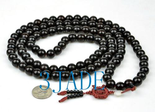 Black Sandalwood Prayer Beads