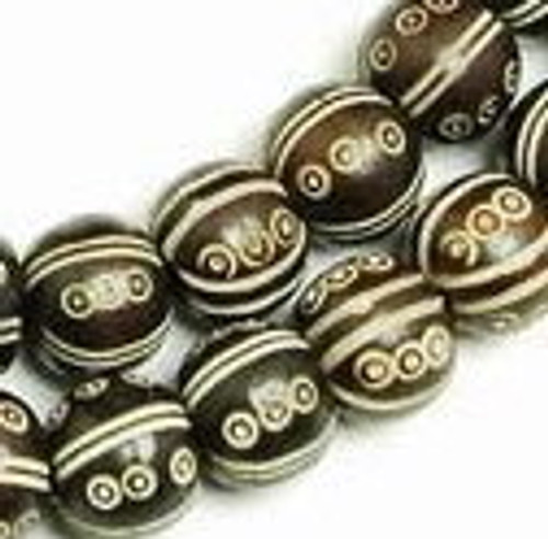 Hand carved beads