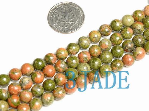 unakite prayer beads