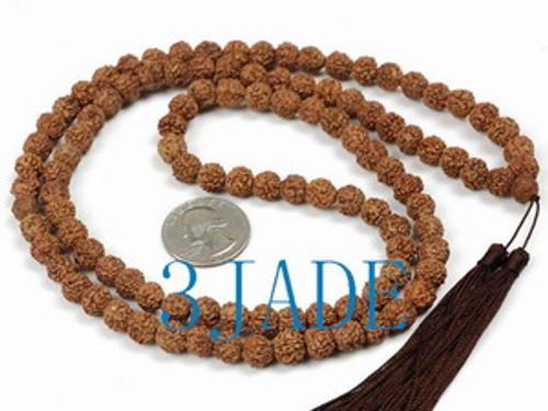 Seed prayer beads