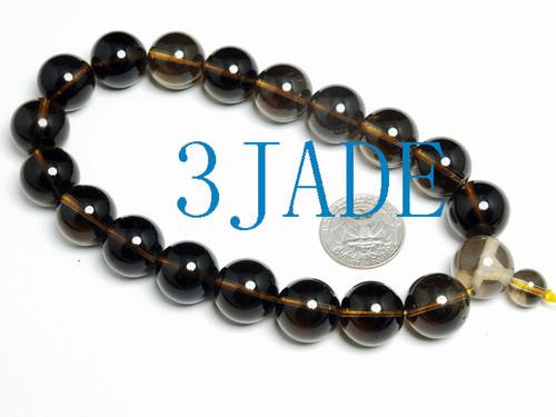 smoky prayer beads