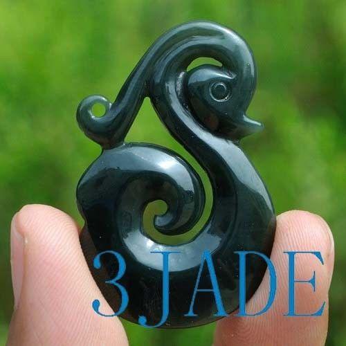 jade Koru pendant