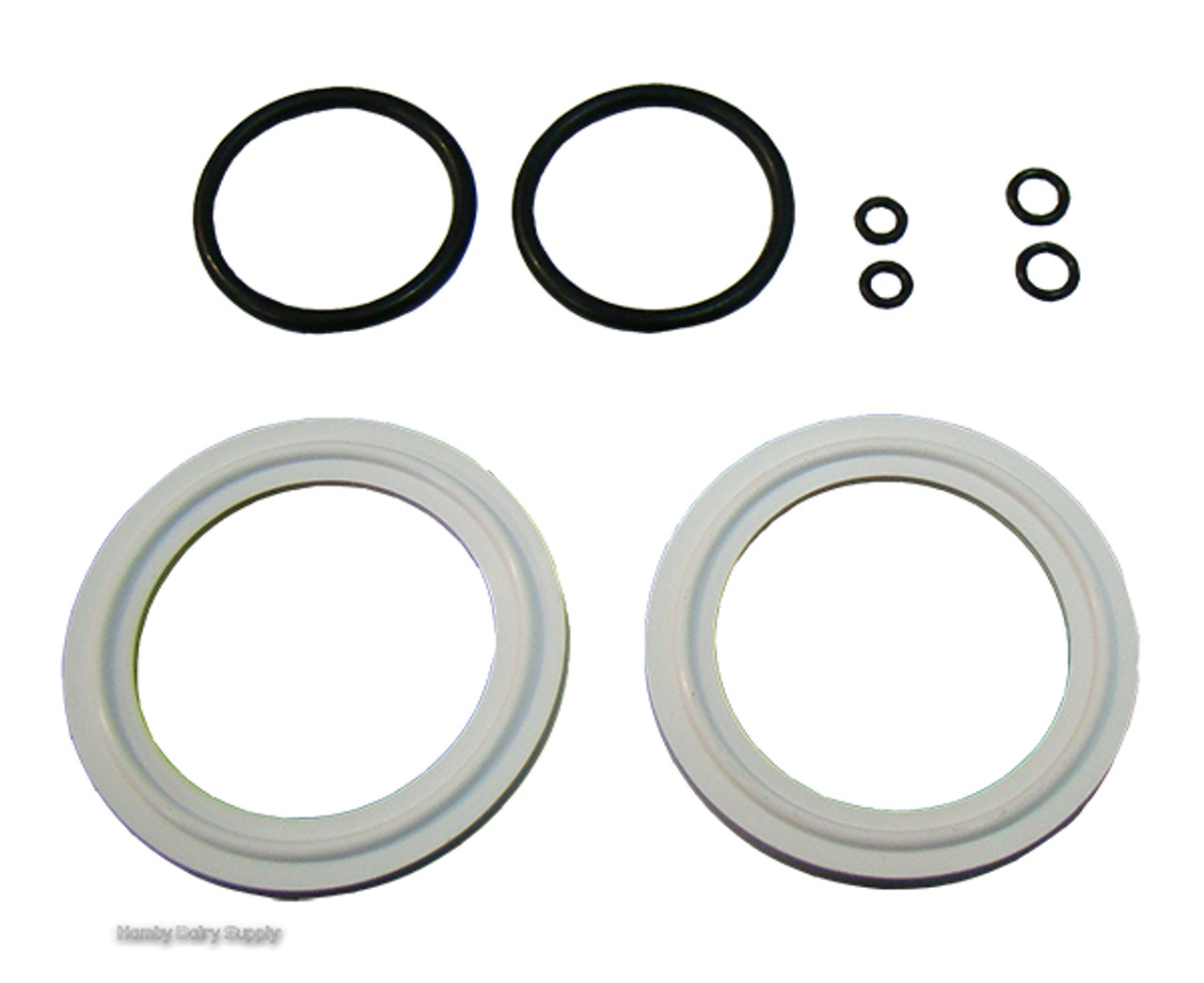 O-RING kit for Mueller Style 2 inch Milk Tank Valve - Hamby Dairy Supply