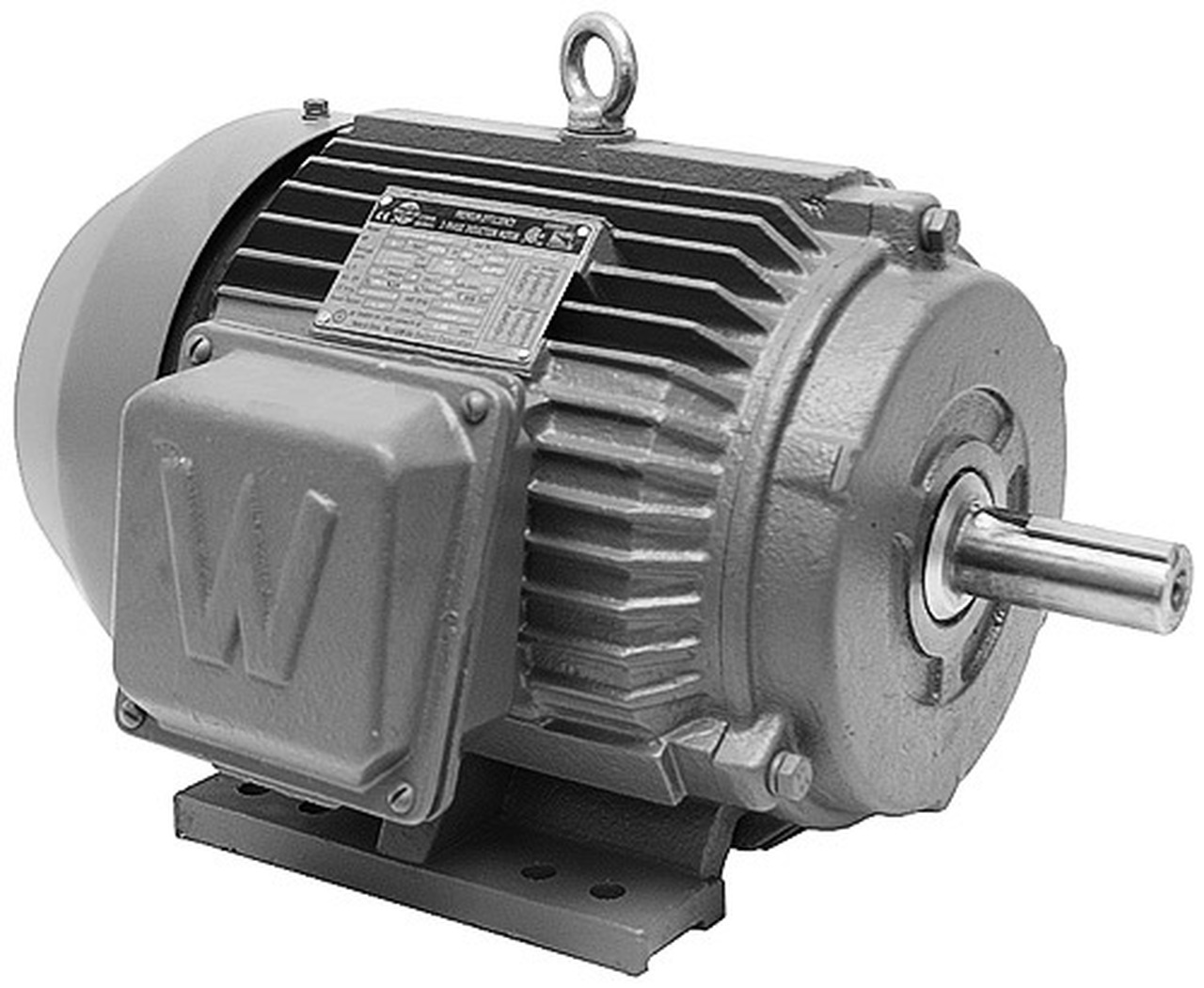 7 5 hp 3 phase electric motor hamby dairy supply for 7 5 hp three phase motor