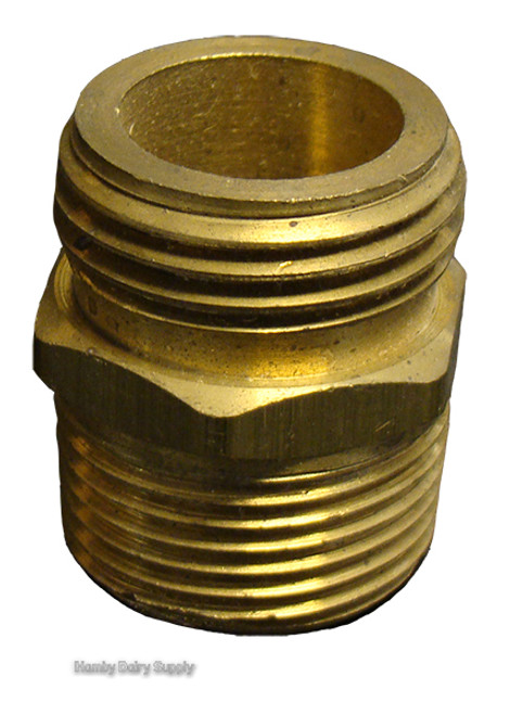 Attrayant 3/4 Inch Male Garden Hose To 3/4 NPT Adapter