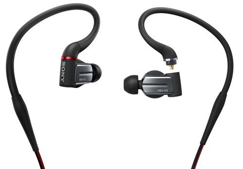 Sony XBA-A3 Balanced Armature Headphones