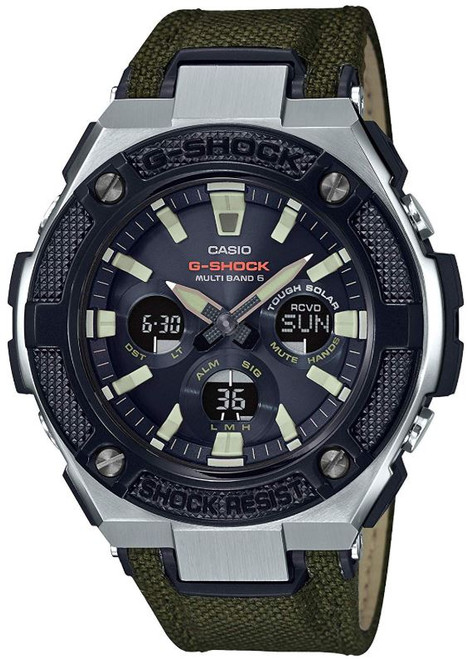 G-Steel GST-W330AC-3AJF Tough Solar Multi-Band 6