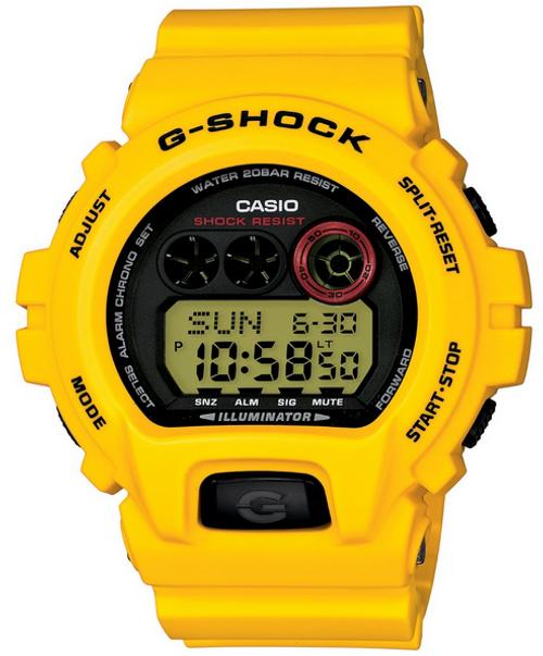 Casio G-Shock GD-X6930E-9JR Lightning Yellow Series