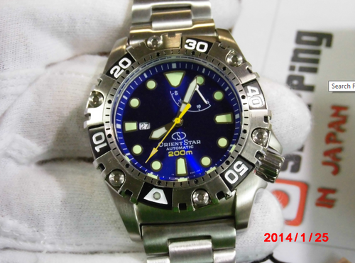Orient WZ0361FD Divers