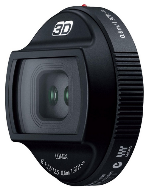 Panasonic H-FT012 3D LUMIX G 12.5mm F12 Lens
