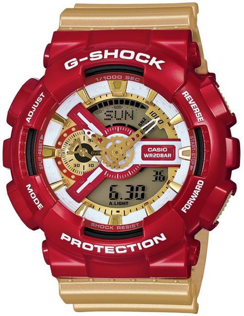 Casio G-Shock GA-110CS-4AJF Ironman Crazy Color