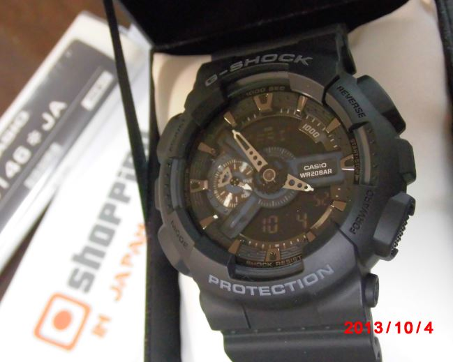 Casio G-Shock GA-110-1BJF Black Hyper - Shopping In Japan .NET edb8e41f9fe0