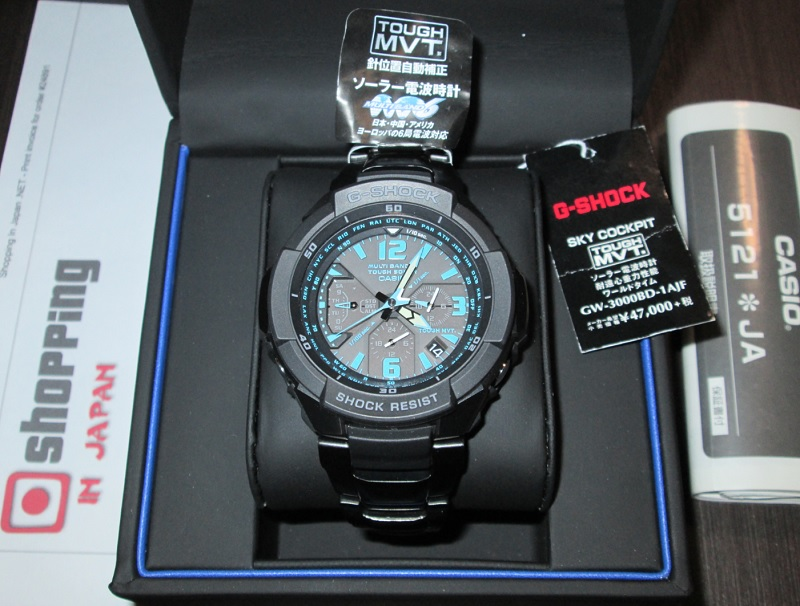 big sale 976d8 941ae Casio G-Shock GW-3000BD-1AJF Sky Cockpit
