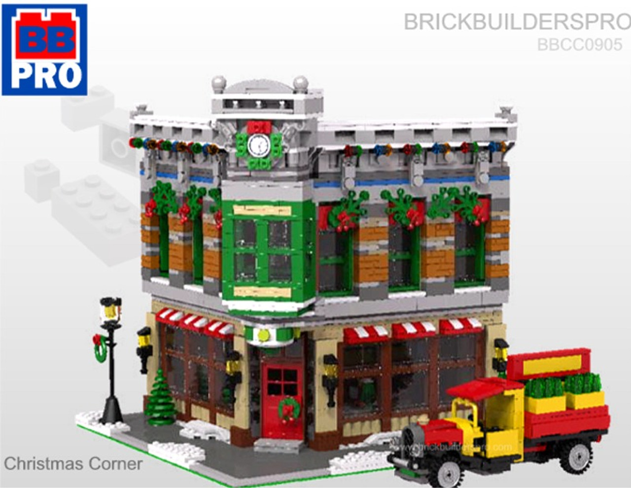 Modular Christmas Department Store Corner
