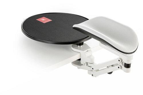 Long pad with mouse platform