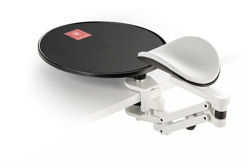 Standard pad wide jaw with mouse platform