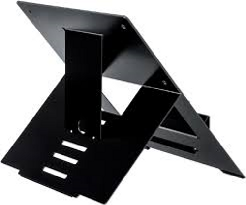 R-Go Laptop Stand Free standing adjustable black