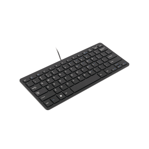 Keyboard Compact R-Go Wired Black