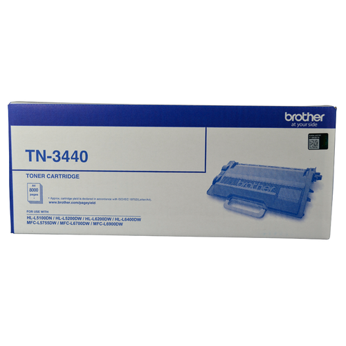 Brother TN-3440 Toner Cartridge - 8,000 pages