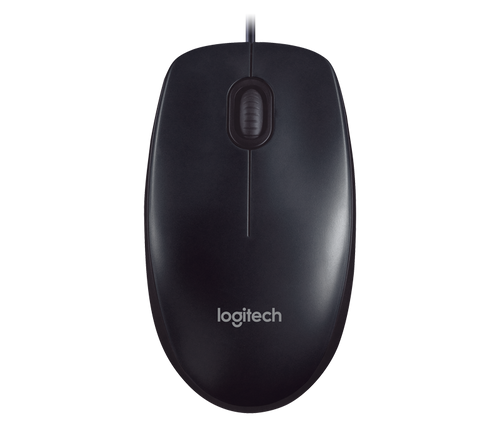 Logitech M90 Ambidextrous Optical USB Mouse