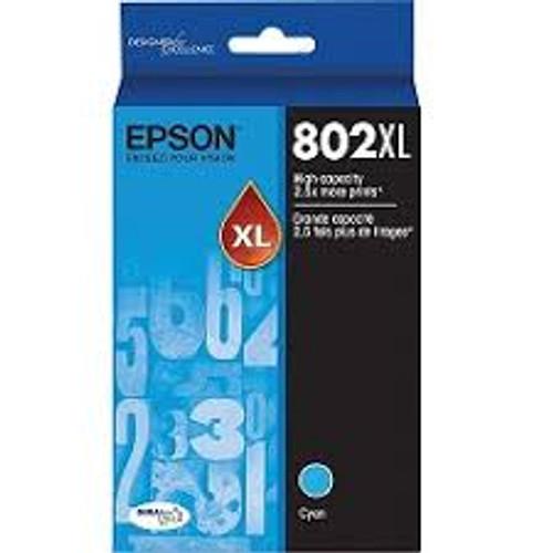 Epson 802 Cyan XL Ink Cartridge
