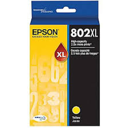 Epson 802 Yellow XL Ink Cartridge