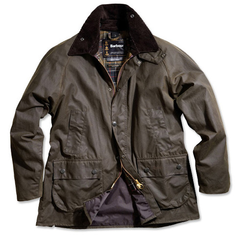 Barbour Women S Beadnell Waxed Cotton Jacket Classic Olive
