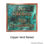 Copper Verdi Finish