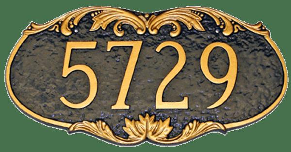 Charleston Address Plaque