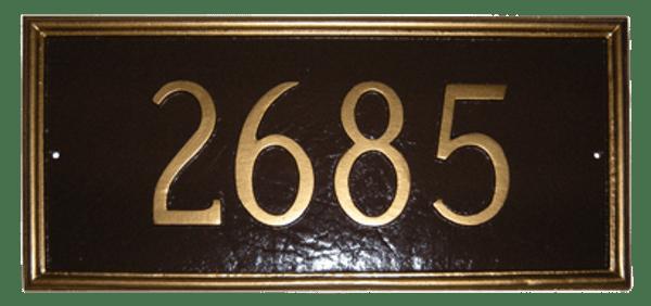 Melilla House Number Plaque