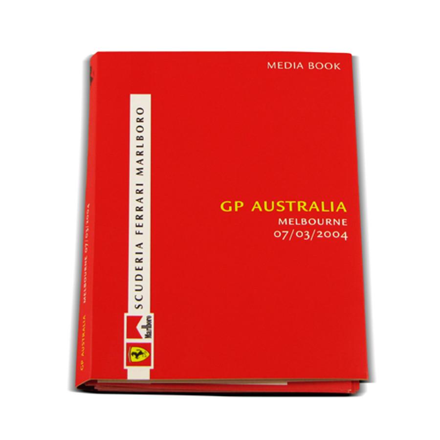 Ferrari Australian Grand Prix 2004 Media Book