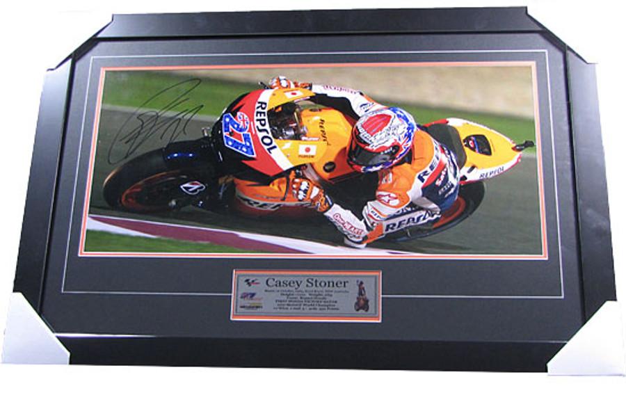 Casey Stoner World Champion 2011 Frame  - 2