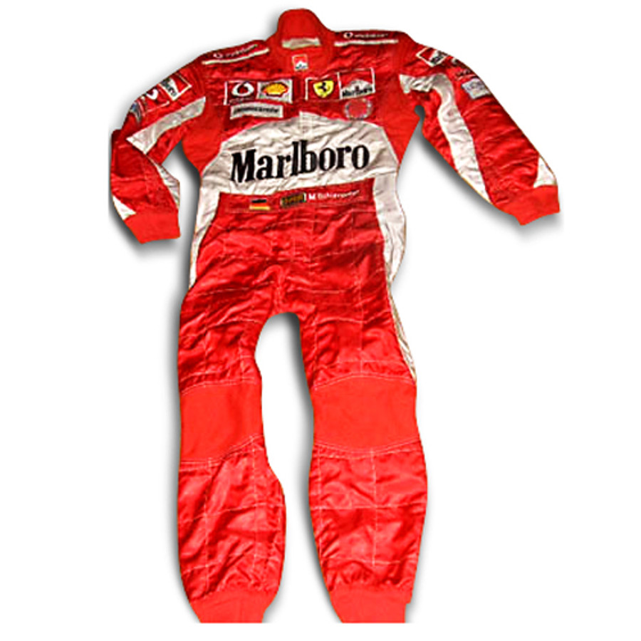 Michael Schumacher Used / Signed Race Suits