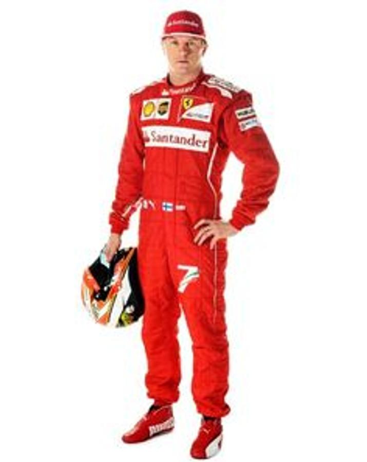 Kimi Raikkonen Used Suit - 2008