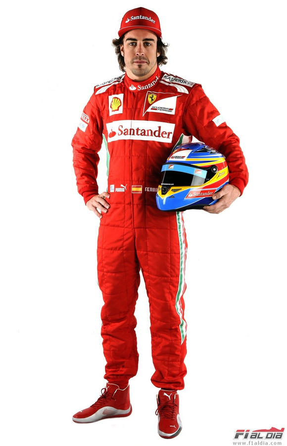 Fernando Alonso Ferrari Suit - 2013